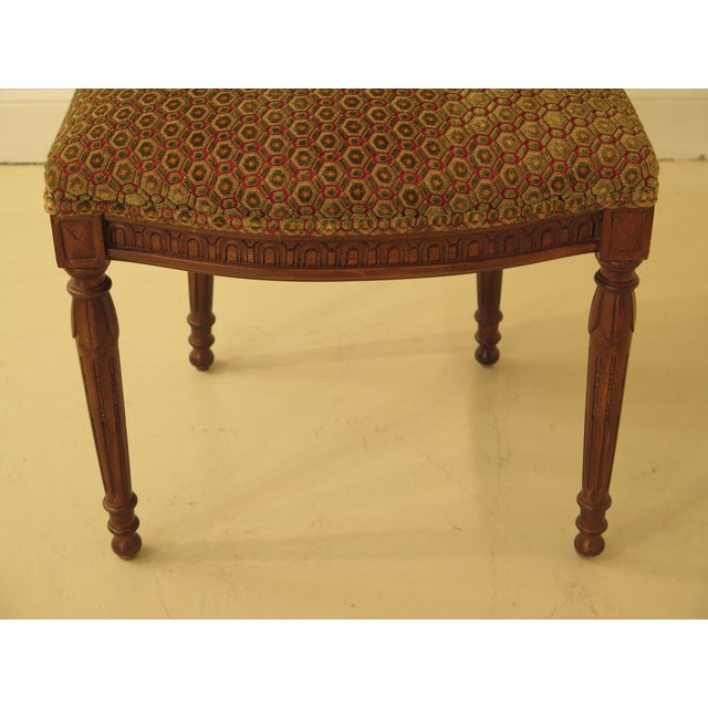 Louis XV French Louis XV Carved Walnut Dining Room Chairs - Set of 8 For Sale - Image 3 of 13