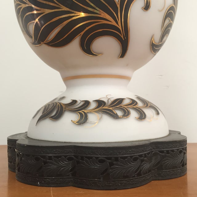 Hand Painted Table Lamp - Image 3 of 11