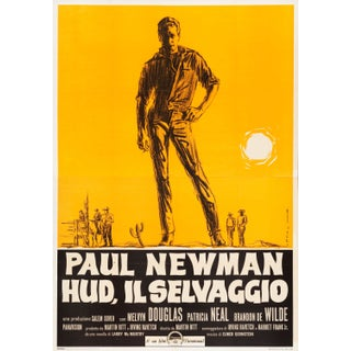 "Paul Newman ""Hud"" Italian Film Poster For Sale"