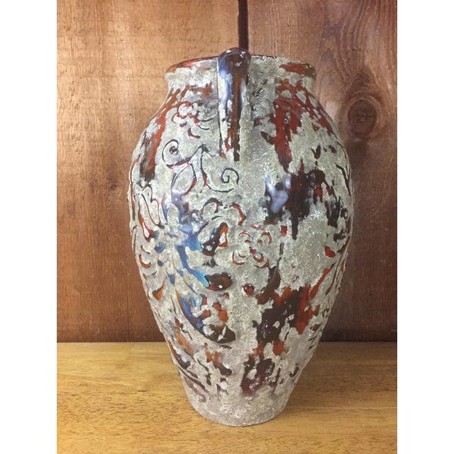 Boho Raised Glaze Vase - Image 3 of 9