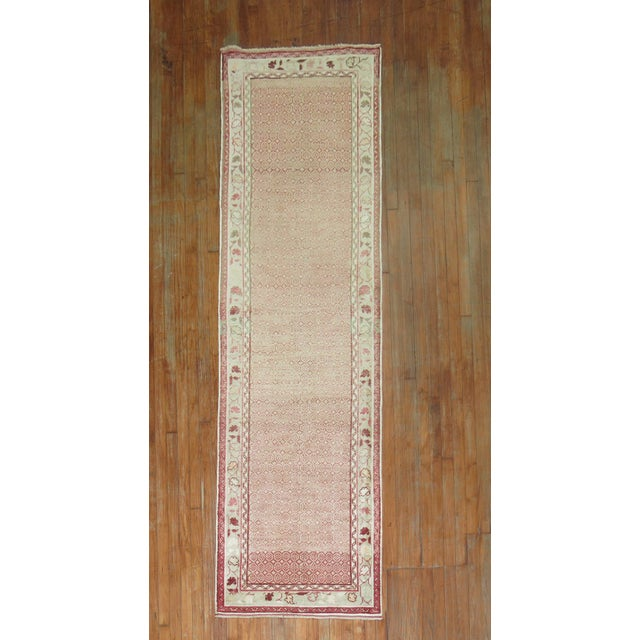 Textile Antique Turkish Anatolian Runner Rug- 2'9'' X 9'3'' For Sale - Image 7 of 7