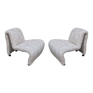 A Pair of Lounge Chairs by Pierre Paulin France 50'