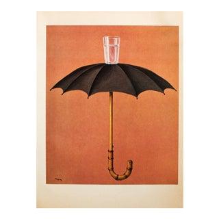 "1972 Rene Magritte, ""Hegel's Holiday"" Original Photogravure For Sale"