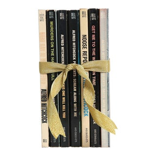 Vintage Book Gift Set: Hitchcock Tales - Set of 7