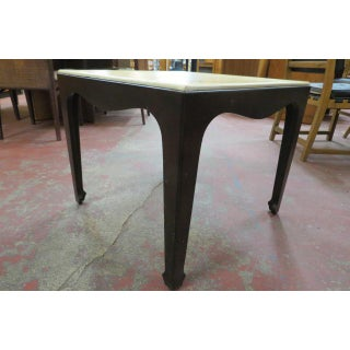 1960s Mid Century Modern Side Table With Lacquered Grass Cloth Top Preview