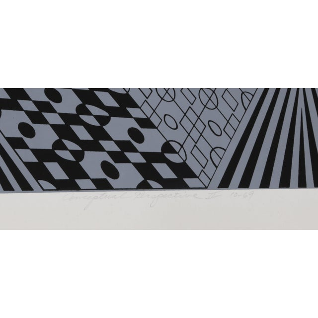 Date: 1969 Screenprint, signed and numbered in pencil Edition of 100 Image Size: 17 x 17 inches Size: 20 x 20 in. (50.8 x...