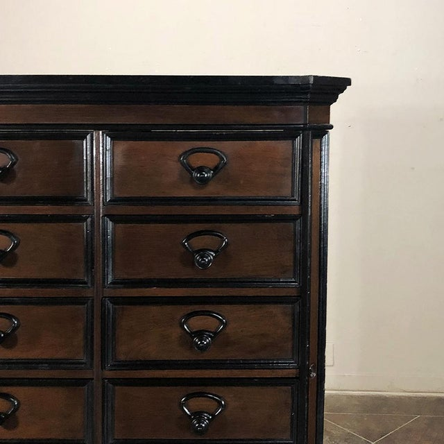 Late 19th Century 19th Century French Napoleon III File Cabinet For Sale - Image 5 of 13