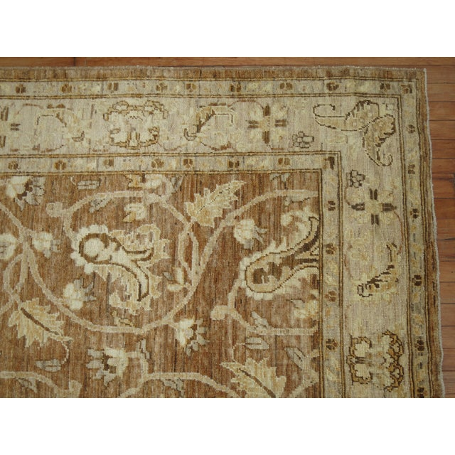 Vintage Afghan Rug - 5'5'' x 7'8'' For Sale In New York - Image 6 of 7