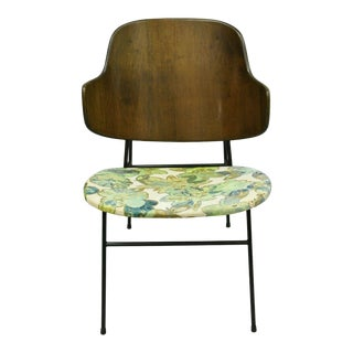 Vintage Mid Century Danish Modern Ib Kofod Larsen Selig Penguin Chair For Sale