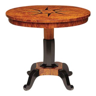 Biedermeier Omicron Lamp Table For Sale