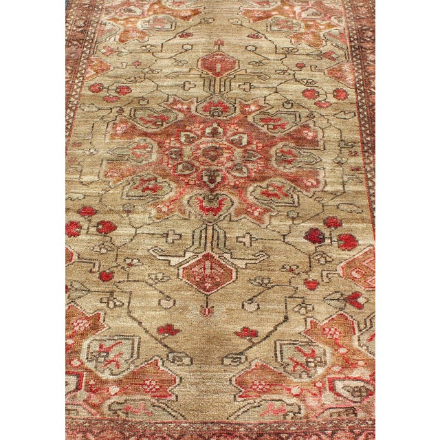 Mid 20th Century Vintage Mid-Century Persian Rug - 4′2″ × 6′4″ For Sale - Image 5 of 11