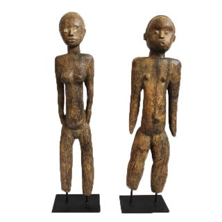 Original Musi Couple from Ivory Coast - Pair For Sale
