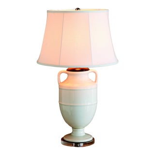 "Lantana Ivory Lamp 34""h For Sale"