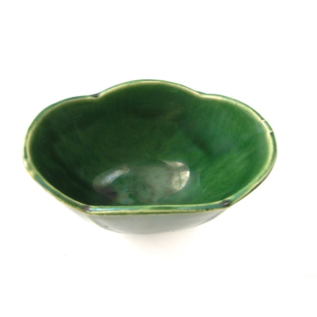 McCoy Green Pottery Vase - Image 4 of 10