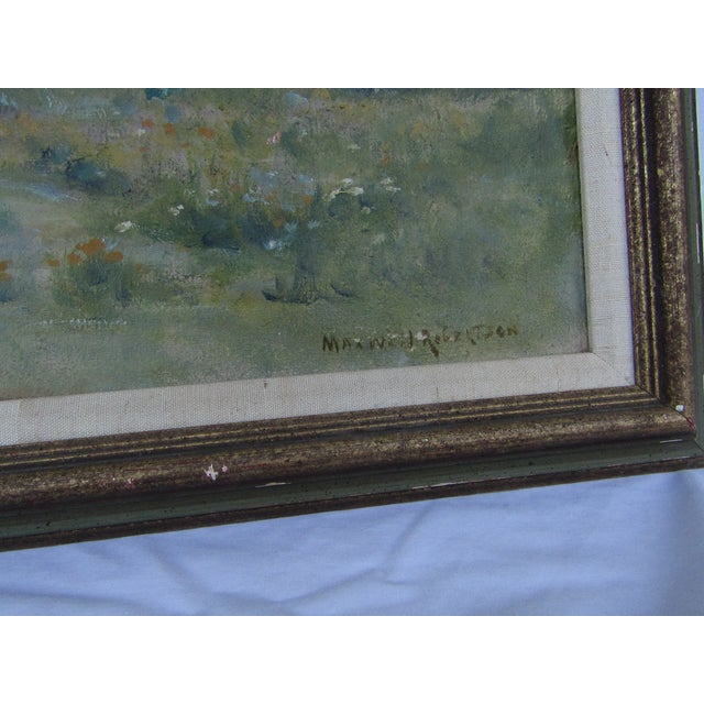 Antique Original Landscape by Maxwell Robertson - Image 4 of 7