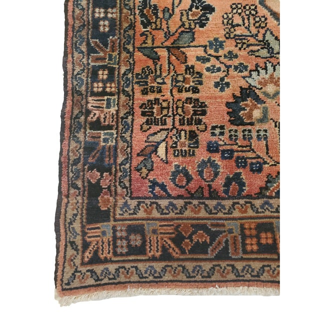 This beautiful rug comes from the Hamadan area of Iran. Known for their intricate work this rug is both stylish and...