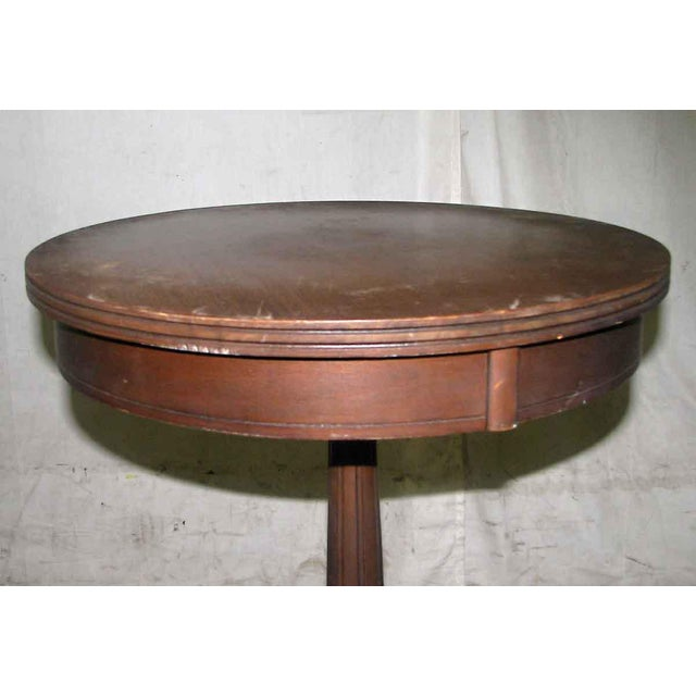 Antique Side Drink Table For Sale - Image 5 of 6