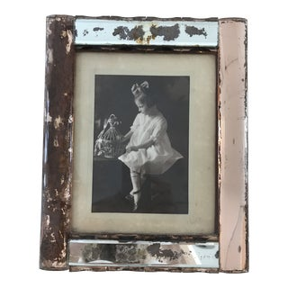 Antique Art Deco Picture Frame For Sale