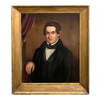 19th Century American Portrait of a Handsome Ny Bachelor, Norman Pearl For Sale