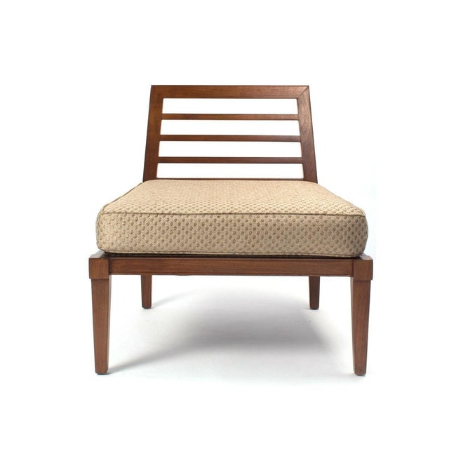 André Arbus French Mid century Chairs in the Style of Andre Arbus For Sale - Image 4 of 9