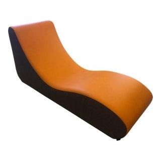 Mid-Century Verner Panton (Verpan) Danish Lounge Chair For Sale