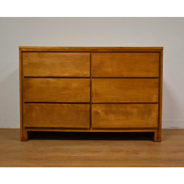 Solid Birch Dresser by Leslie Diamond for Conant Ball - Image 11 of 11