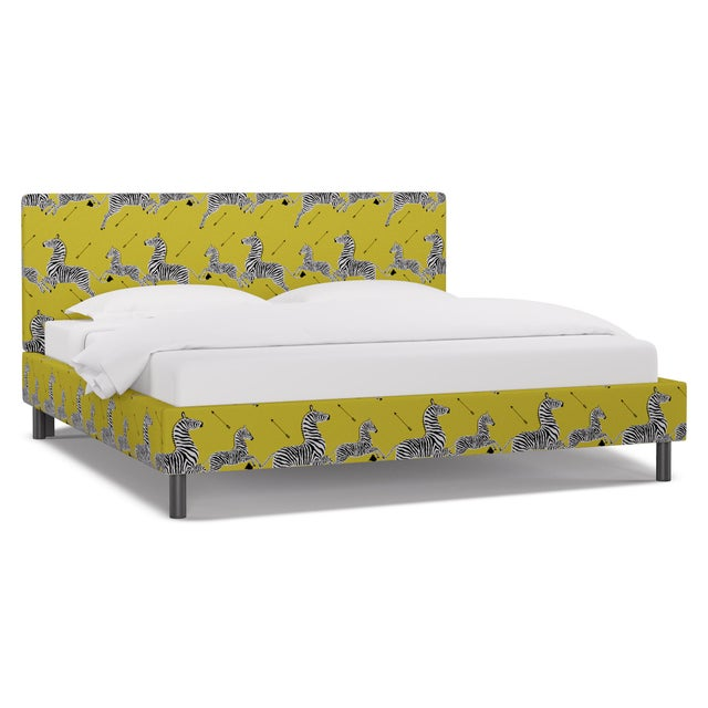 Our Tailored Platform Bed is all about sophisticated simplicity. No box spring required. Hand-made in the USA by The...