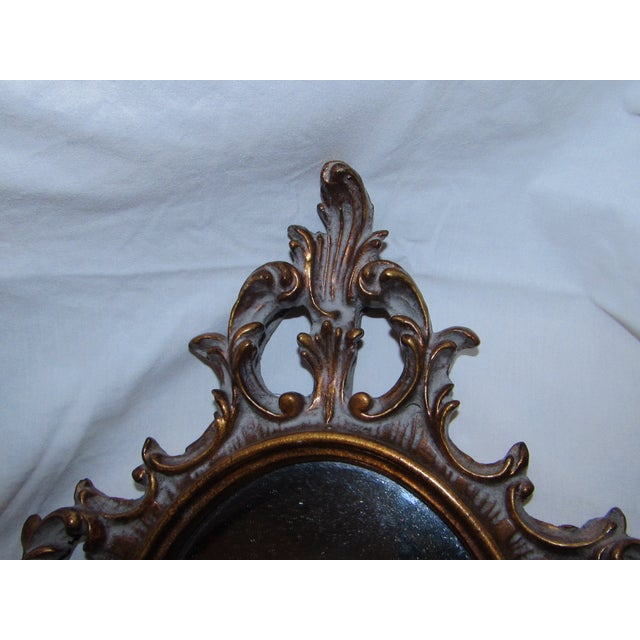 Antique Carved Mirror - Image 4 of 5