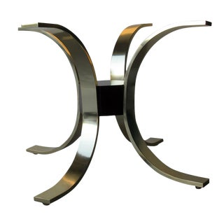 Italian Modernist Table Base Attributed to Romeo Rega, 1970s For Sale