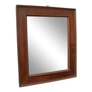 French Art Deco Veneer Mirror For Sale
