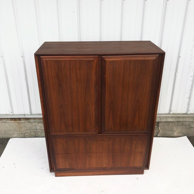 Mid-Century Armoire Dresser by Dillingham For Sale - Image 11 of 12