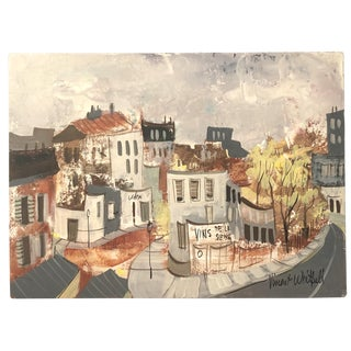 Vincent Whitfield French Village Painting For Sale