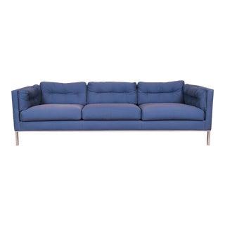 Roger Sprunger for Dunbar Curved Back Sofa, 1970s For Sale