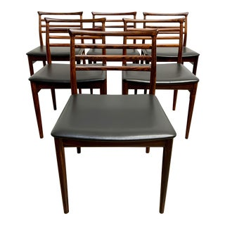 Erling Torvits for Sorø Stolefabrik Rosewood Dining Chairs - Set of 6 For Sale