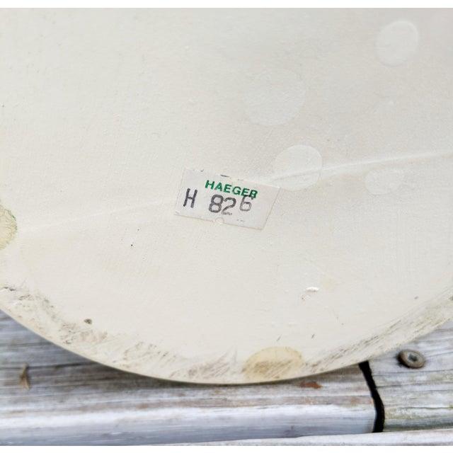 Haeger Haeger Modern White Vase For Sale - Image 4 of 6