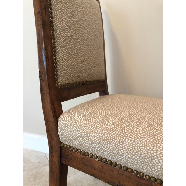 Bausman & Company Bench Made Side Chairs - Set of 4 For Sale - Image 10 of 13