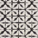 Schumacher Andromeda Wallpaper in Charcoal , Sample