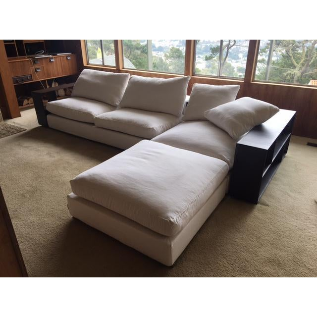This is a rare opportunity to affordably own a like-new original Flexform sofa, made in Italy. We inherited this modern...