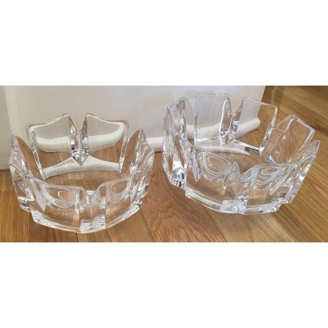 "Orrefors ""Corona"" Crystal Bowls - A Pair - Image 4 of 10"
