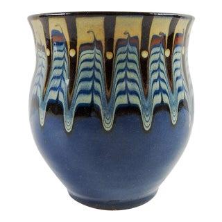 Studio Ceramic Feather Vase