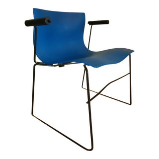 1980s Vintage Massimo & Lella Vignelli for Knoll Vintage Handkerchief Chair For Sale