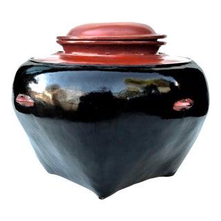 Antique Large Burmese Lacquerware Box