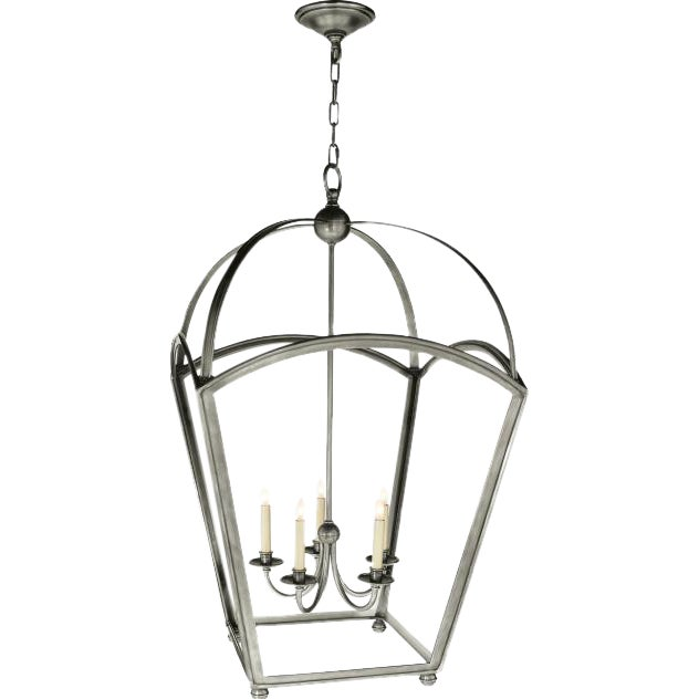 Visual Comfort Arch Top Large Tapered Lantern - Image 1 of 3