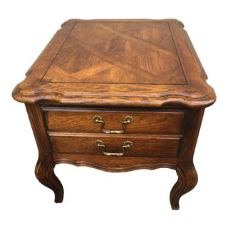 Hammary Country French End Table For Sale
