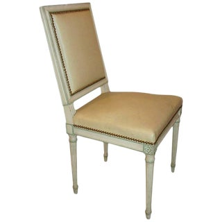 Maison Jansen Paint Decorated Side Chair For Sale