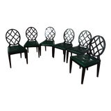 Image of Miles Redd for Ballard Design Dining Chairs - Set of 6 For Sale