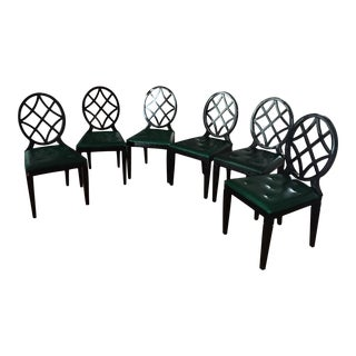 Miles Redd for Ballard Design Dining Chairs - Set of 6 For Sale