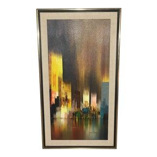 New York Skyline by James Sherman