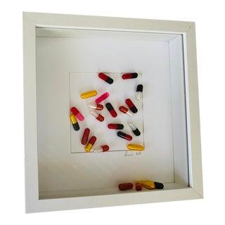 "Original 3d Artwork ""Take a Chill Pill"" Framed For Sale"