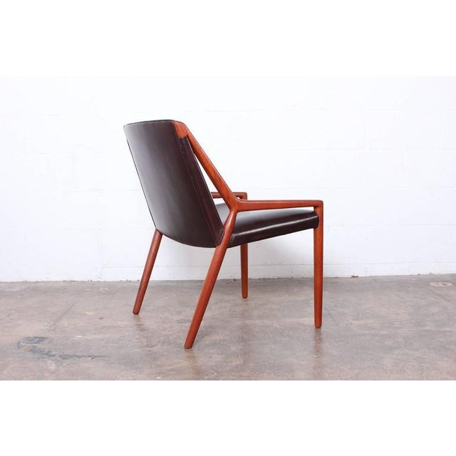 Lounge Chair by Ejner Larsen and Axel Bender Madsen for Willy Beck - Image 3 of 10